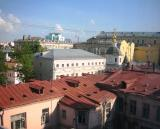 Moscow Roofs & Church near Hotel