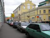 Everyone Parks on Sidewalks in Moscow