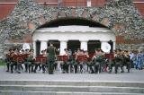 Military Band Playing Outside Kremlin