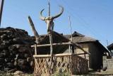 Christian grave in Peren Village.