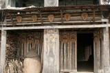 Poilwa morung (young men´s house). Zeliang Naga live in Poilwa.