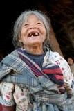 Old lady in Changlangshu.