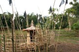 Ritual place at a grave (Digaru Mishmi)