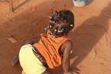 Baby girl in Benin.