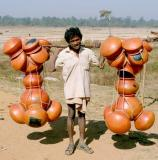 transport of clay pots