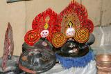Dankhar hats for mask dances