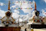 Chorten on the Kunzam Pass Spiti