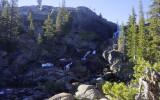 Falls above the Glen Aulin Falls