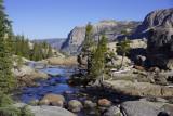 Tuolumne river to Glen Aulin Falls