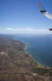 And then over the East coast of Maui
