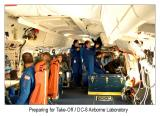 Astronomers and Engineers prep for Take Off