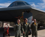 B-2 Bomber and THE pilots