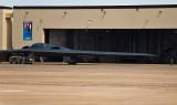 Spirit of Arizona being parked in Hawaii's hangar