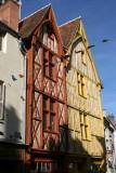Maisons à pans de bois du XVè
