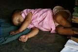 La sieste, dans un temple