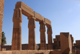 Colonnes en forme de papyrus