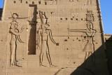 Isis, Horus et Hator