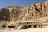 Le temple d'Hatchepsout à Thèbes
