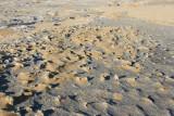 Le sol calcaire est très tranchant