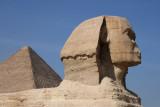 Le Sphinx devant Khéops