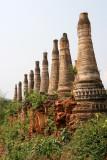 Alignement de pagodons