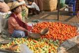 Jeune marchande de tomates