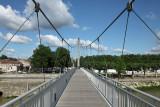 La passerelle sur la Garonne