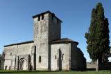 L'église romane de Vianne