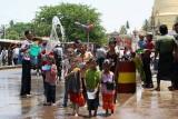 La fête de l'eau à Bago