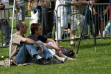 Spectateurs passionnés