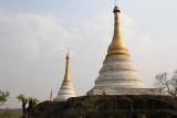 Stupas de Po Win Taung