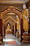 Le temple de Thanbodhay - Mandalay