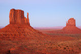 Mittens After Sunset, Monument Valley