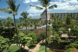 View from our Room, Grand Wailea, Maui