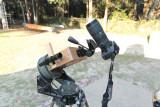 Improved C8 mount camera platform