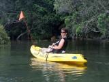 kajaking in the tairua river estuary