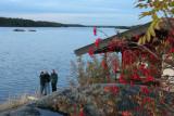 sauna hut by the inlet