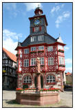 The town hall of Heppenheim