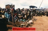 Views from within the Zambian Company of the United Nations Assistance Mission for Rwanda (UNAMIR) at about 14:30 on Tuesday, 18 April 1995. Note the relative calm, despite great pressure around the camp, which, in some places has broken down razor-wire fencing.