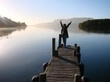 Morning in Lake Rotoiti