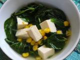 Sup Bayam Tahu