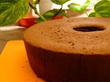 Chiffon Cake Coklat
