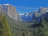 Classic Yosemite Valley View