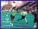 Special Olympics Delaware 2009-2010 Yearbook Cover