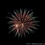Chesapeake City Fireworks - 2010
