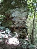 Rock formation at Fall Creek Falls