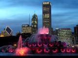 Buckingham Fountain/Chicago Skyline