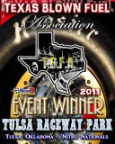 2011 TBFA Winner Plaque Sample