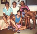 Fred&Andre&Marth&Dani&Giovanni - 01.03.1986