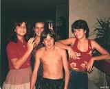Fernando & AnaFlávia &Martha & Bianca - 1982
